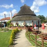 Bridge Inn at Acle bridge - good food, lots of seating, effecient service and comprehensive chil