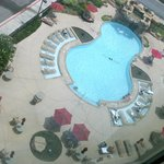 POOL aerial view from 9th floor