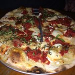 Pizza enjoyed at Alibi