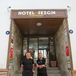 Sezgin & Deniz at Entrance