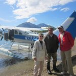 Our float plane with Glen Alsworth