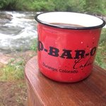 coffee at the river