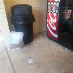 Ice Machine and Vending area across from Pool