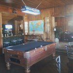 Relax with a game of pool and a drink in our lounge.