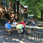 Breakfast on The Cheoah River Patio