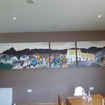The history of Kilsyth captured in conference room mural