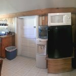 Small, but adequate kitchen