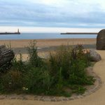Roker seafront short stroll from hotel