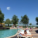 Outdoor Pool area and Balaton