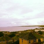 The view of Newquay and Towan Beach from Room 10