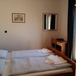 Romm is OK, small but with a separate bathroom and a large balcony.