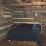 Bedroom of Patton Cabin