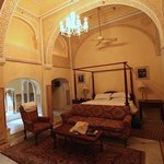 Samode Haveli room