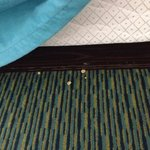 Popcorn under bed - we didn't have popcorn during our stay