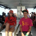 Kids on our way out to Egmont Key.