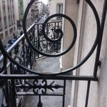 Beautiful Ironwork on my Balcony