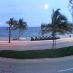 Panoramic view from the terrace....