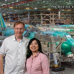 Boeing Aircraft Factory Tour Center Foto