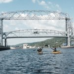 Go for a paddle on Lake Superior!
