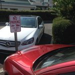 Car Parked in Handicap Tow Away Zone for two days nothing done to it