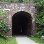 Train wreck tunnel