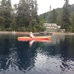 Kayak on Lake Crescent