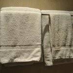 bathroom towels on arrival