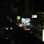 view of Times Square from room 1701