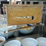 A real bee nest for breakfast