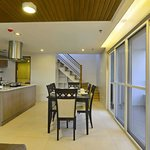 Dining area of the 2BR Penthouse Suite