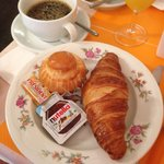 Classic French breakfast