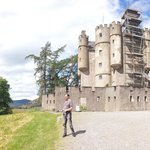 Braemar castle on a glorious day