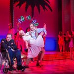 Rufus Hound, Katherine Kingsley and Robert Lindsay in Dirty Rotten Scoundrels