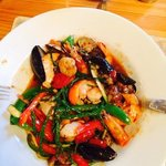 Shellfish Stir-Fry