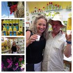 I loved all things lemon about Sorrento, especially limoncello and my new friend William