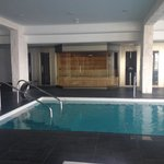 Spa pool, sauna, ice station and steam room
