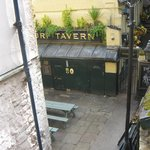 Turf Tavern from the hotel fire escape