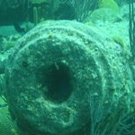 Cannon from the L'Herminie sunk in 1793