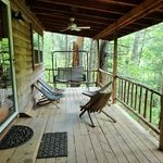 Front deck of Climber's Cabin