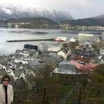 Up hight Alesund , it is near Alesund hostel