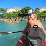 Kayak to Bat island
