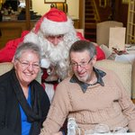 Visit from Santa at Yulefest dinner