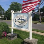 Blue Fish Inn sign