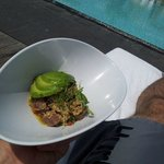 Pool Side Eats at the SLS Beverly Hills