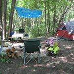 Our wonderful campsite