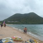 Reduit Beach in Rodney Bay (5 minutes drive to Reduit Beach)