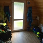 Inside the 4 bed Hiker Hut