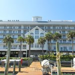 The Dockside building in Clearwater Beach