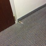 broken doorstop in room 227