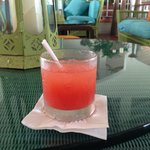 A welcoming Rum Punch on arrival